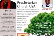 147th Anniversary of Davie Street Presbyterian Church