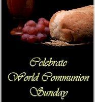 World Communion Sunday at West Raleigh Presbyterian Church